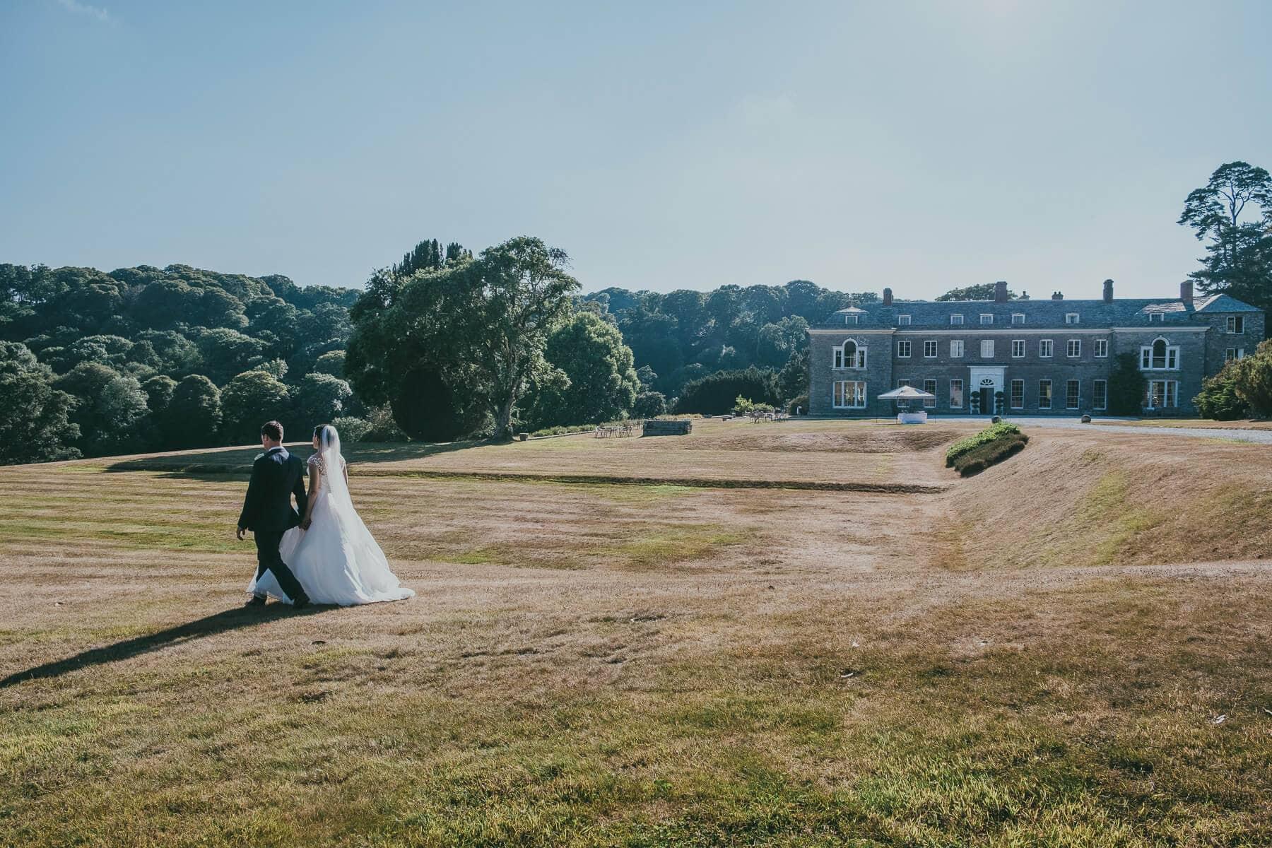 Boconnoc Estate Wedding Photography | Katie & Dan