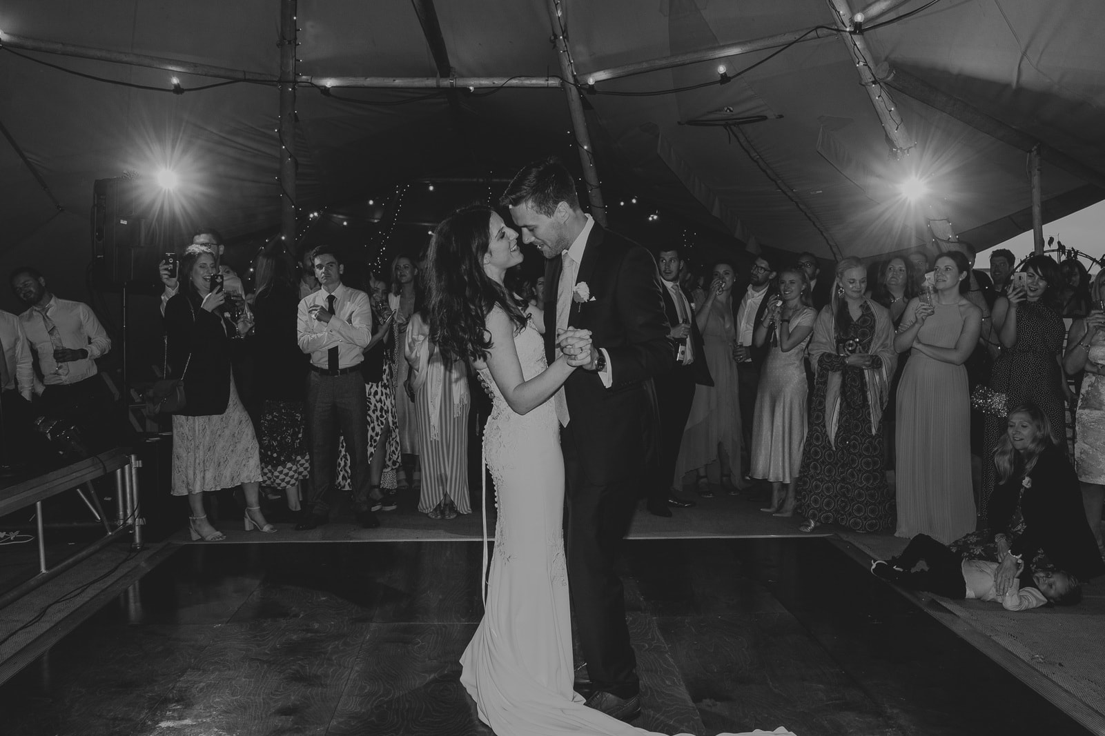Rebecca and Peter's Roseland wedding photography highlights