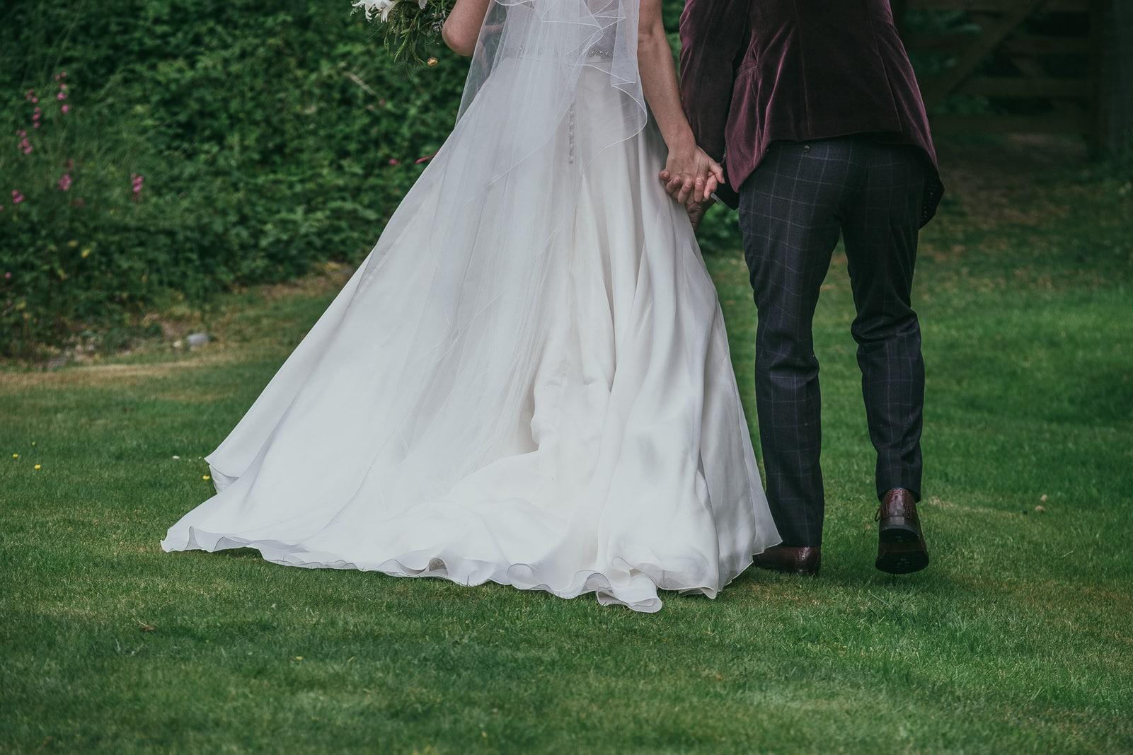 Wedding photography at the Green Cornwall